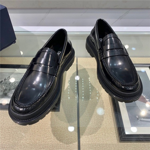 Replica Christian Dior Casual Shoes For Men #807523 $125.00 USD for Wholesale