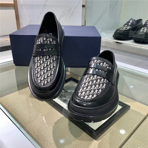 Replica Christian Dior Casual Shoes For Men #807524 $125.00 USD for Wholesale