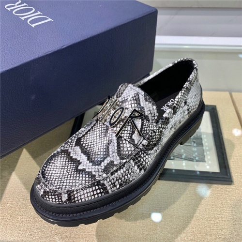 Replica Christian Dior Casual Shoes For Men #807525 $125.00 USD for Wholesale