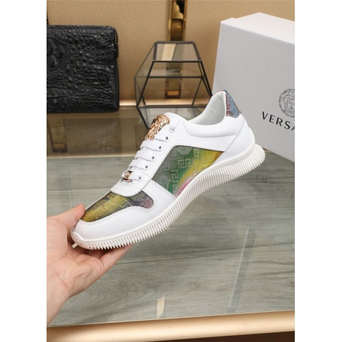 Replica Versace Casual Shoes For Men #807528 $76.00 USD for Wholesale