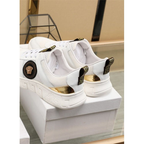 Replica Versace Casual Shoes For Men #807529 $80.00 USD for Wholesale