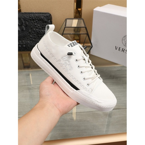 Replica Versace Casual Shoes For Men #807530 $76.00 USD for Wholesale