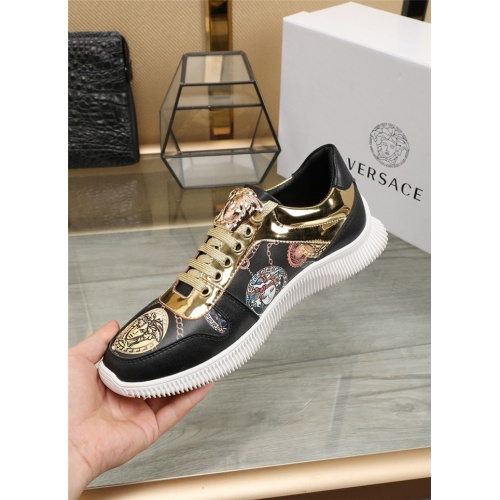 Replica Versace Casual Shoes For Men #807531 $76.00 USD for Wholesale