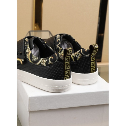 Replica Versace Casual Shoes For Men #807533 $76.00 USD for Wholesale