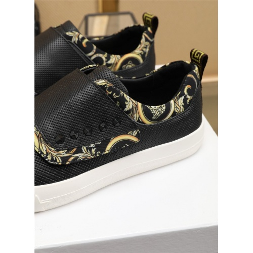Replica Versace Casual Shoes For Men #807534 $76.00 USD for Wholesale