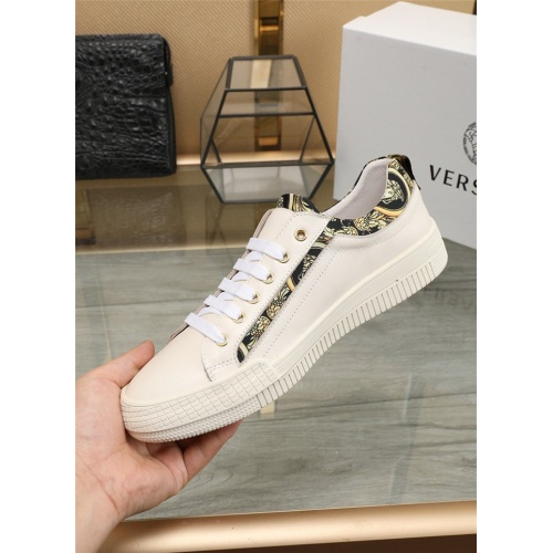 Replica Versace Casual Shoes For Men #807537 $80.00 USD for Wholesale