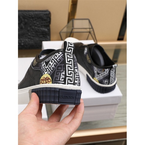 Replica Versace Casual Shoes For Men #807549 $80.00 USD for Wholesale