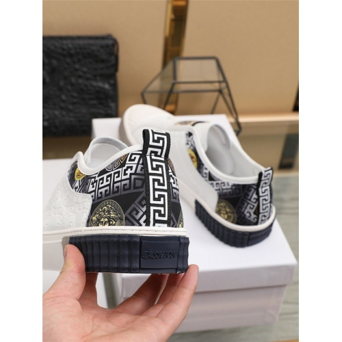 Replica Versace Casual Shoes For Men #807550 $80.00 USD for Wholesale