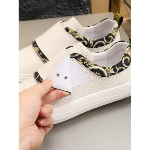 Replica Versace Casual Shoes For Men #807551 $76.00 USD for Wholesale