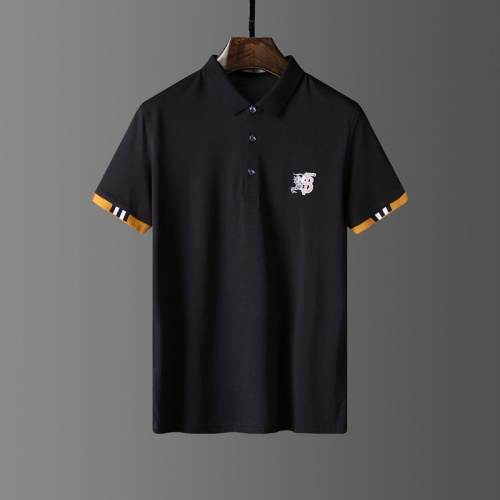 Burberry T-Shirts Short Sleeved Polo For Men #807635