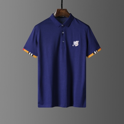 Burberry T-Shirts Short Sleeved Polo For Men #807636