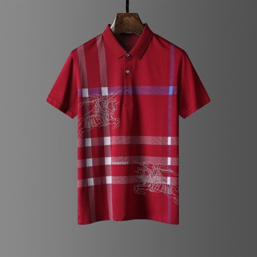 Burberry T-Shirts Short Sleeved Polo For Men #807648