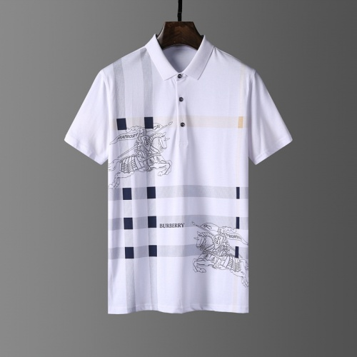 Burberry T-Shirts Short Sleeved Polo For Men #807649