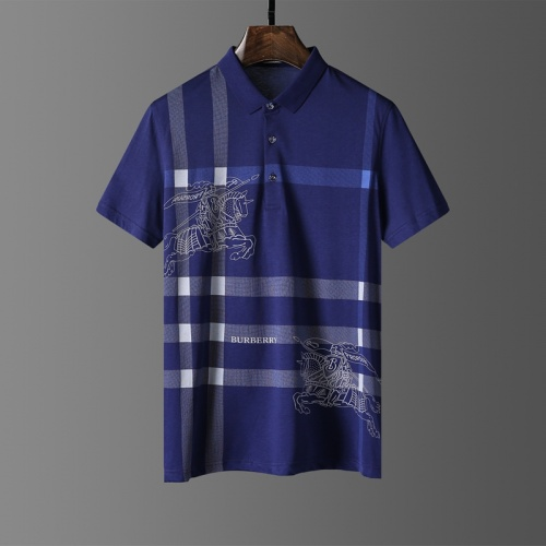 Burberry T-Shirts Short Sleeved Polo For Men #807650