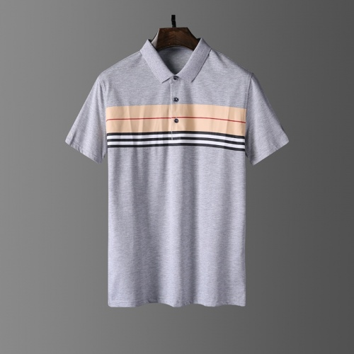 Burberry T-Shirts Short Sleeved Polo For Men #807653