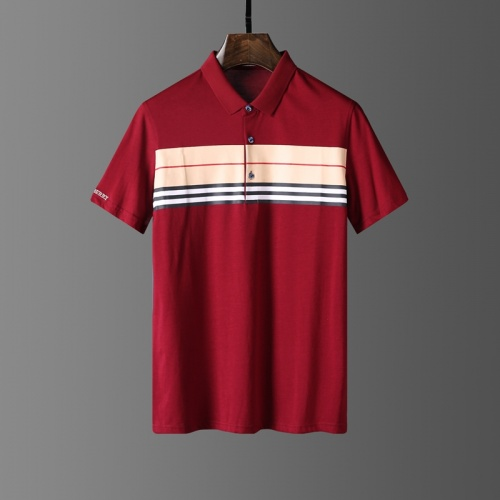Burberry T-Shirts Short Sleeved Polo For Men #807654