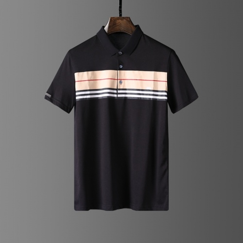 Burberry T-Shirts Short Sleeved Polo For Men #807655