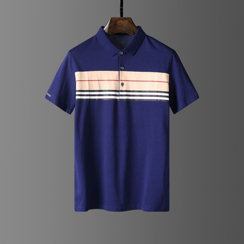 Burberry T-Shirts Short Sleeved Polo For Men #807657