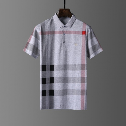 Burberry T-Shirts Short Sleeved Polo For Men #807658
