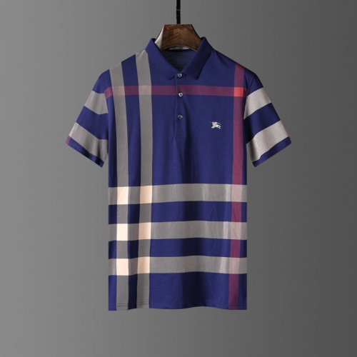 Burberry T-Shirts Short Sleeved Polo For Men #807659
