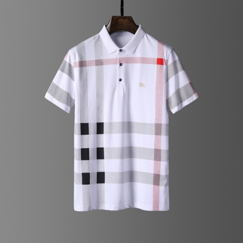 Burberry T-Shirts Short Sleeved Polo For Men #807660