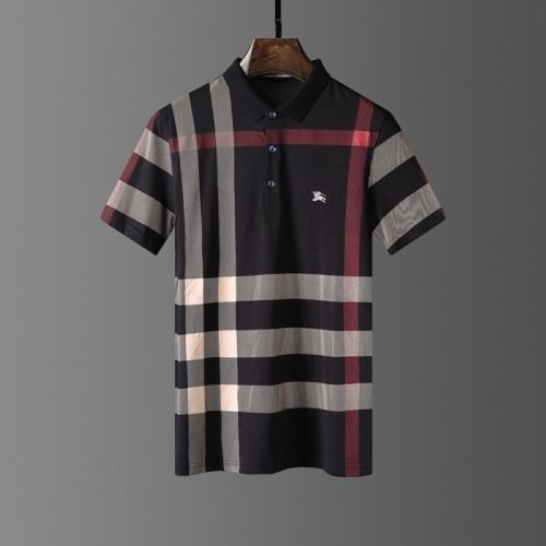 Burberry T-Shirts Short Sleeved Polo For Men #807661