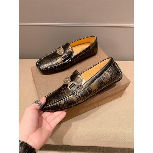 Versace Casual Shoes For Men #807679 $72.00 USD, Wholesale Replica Versace Casual Shoes