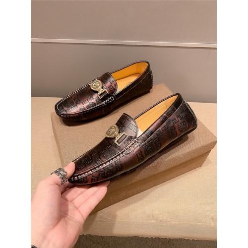 Versace Casual Shoes For Men #807680 $72.00, Wholesale Replica Versace Casual Shoes