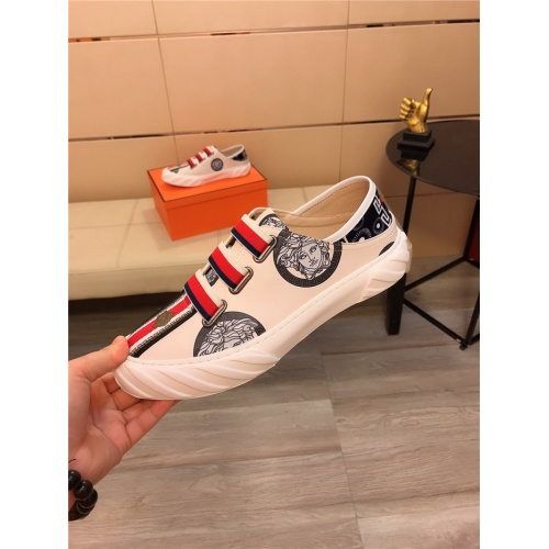 Replica Versace Casual Shoes For Men #807683 $76.00 USD for Wholesale