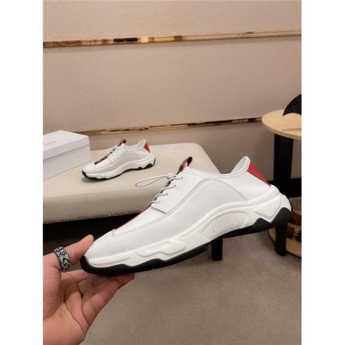 Versace Casual Shoes For Men #807684 $80.00, Wholesale Replica Versace Casual Shoes