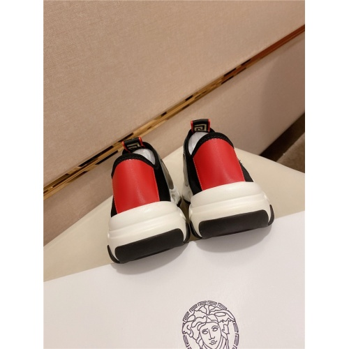 Replica Versace Casual Shoes For Men #807685 $80.00 USD for Wholesale