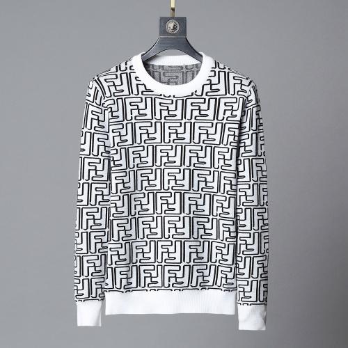 Fendi Sweaters Long Sleeved O-Neck For Men #807767