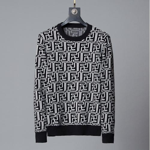 Fendi Sweaters Long Sleeved O-Neck For Men #807768
