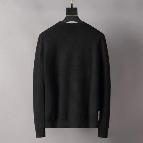 Replica Valentino Sweaters Long Sleeved O-Neck For Men #807769 $42.00 USD for Wholesale