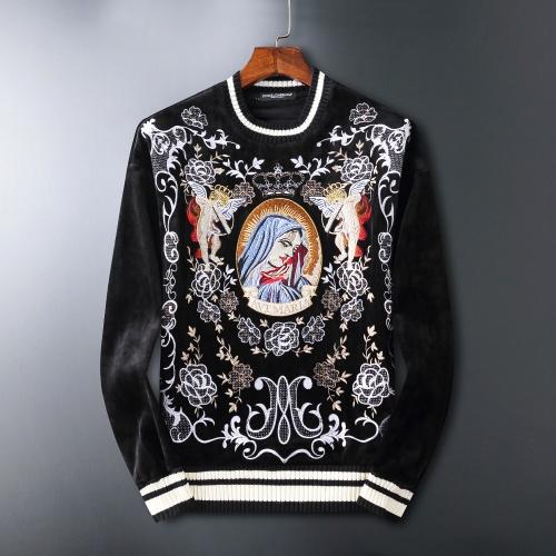 Dolce & Gabbana D&G Hoodies Long Sleeved O-Neck For Men #807770