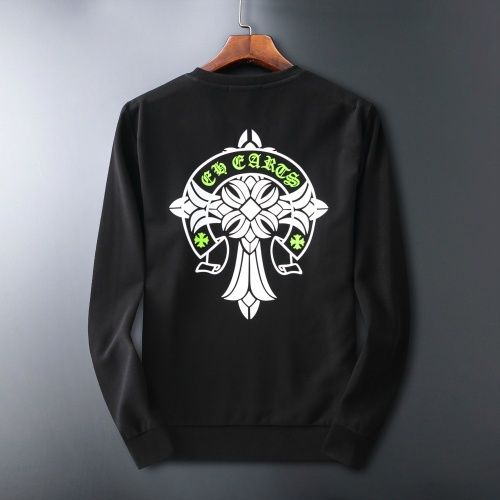 Chrome Hearts Hoodies Long Sleeved O-Neck For Men #807772