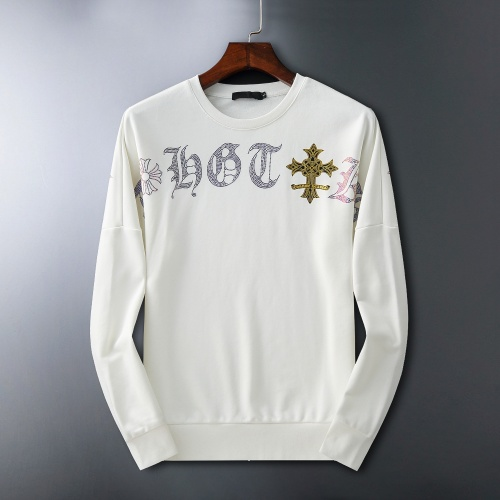 Chrome Hearts Hoodies Long Sleeved O-Neck For Men #807774