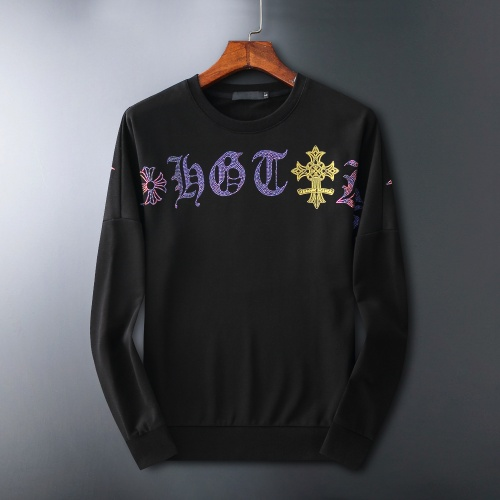 Chrome Hearts Hoodies Long Sleeved O-Neck For Men #807775