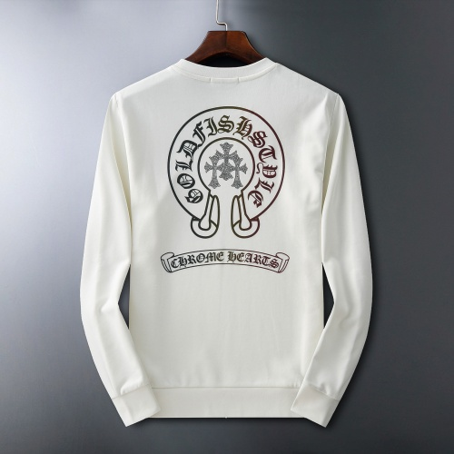 Chrome Hearts Hoodies Long Sleeved O-Neck For Men #807776
