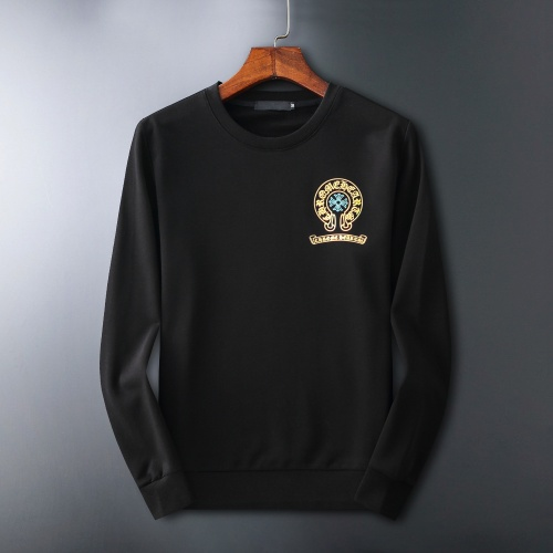 Chrome Hearts Hoodies Long Sleeved O-Neck For Men #807779