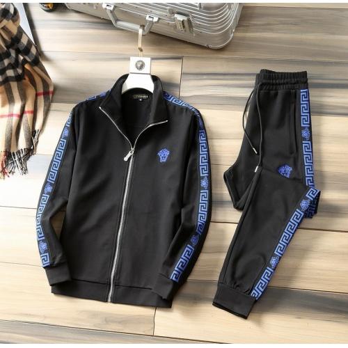 Versace Tracksuits Long Sleeved For Men #807806 $98.00, Wholesale Replica Versace Tracksuits