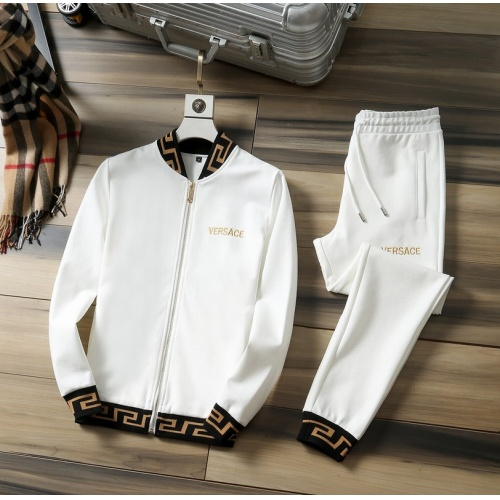 Versace Tracksuits Long Sleeved Zipper For Men #807810 $98.00, Wholesale Replica Versace Tracksuits