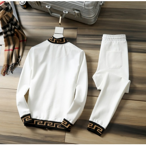 Replica Versace Tracksuits Long Sleeved Zipper For Men #807810 $98.00 USD for Wholesale