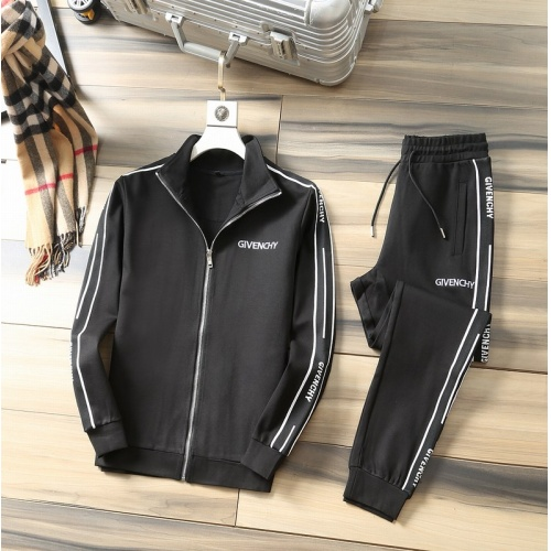 Givenchy Tracksuits Long Sleeved Zipper For Men #807813
