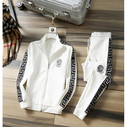 Versace Tracksuits Long Sleeved Zipper For Men #807816