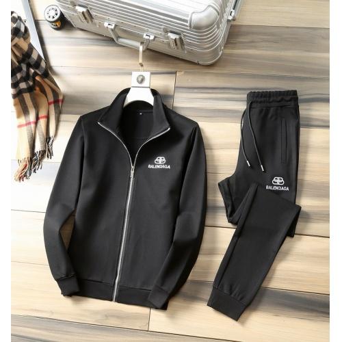 Balenciaga Fashion Tracksuits Long Sleeved Zipper For Men #807819 $98.00, Wholesale Replica Balenciaga Fashion Tracksuits