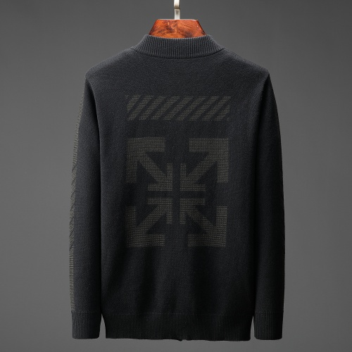 Off-White Sweaters Long Sleeved For Men #807822 $60.00, Wholesale Replica Off-White Sweaters