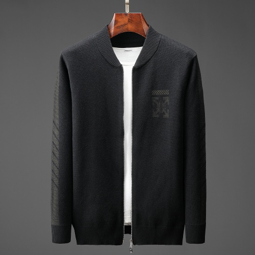 Replica Off-White Sweaters Long Sleeved For Men #807822 $60.00 USD for Wholesale