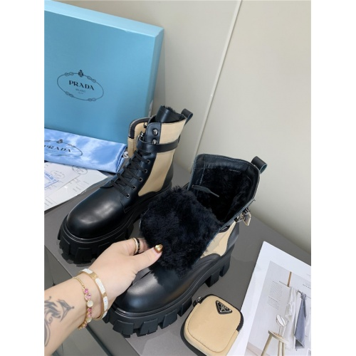Replica Prada Boots For Women #807829 $108.00 USD for Wholesale