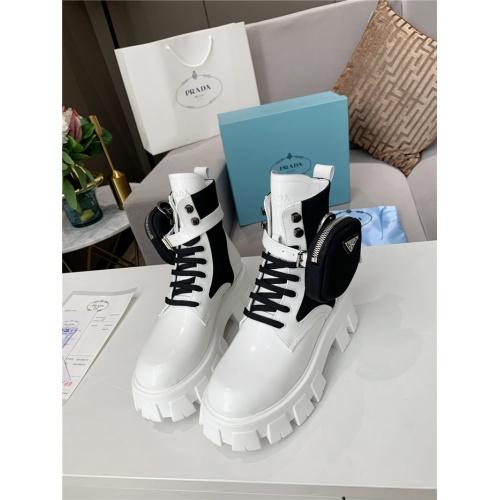 Prada Boots For Women #807830 $108.00, Wholesale Replica Prada Boots
